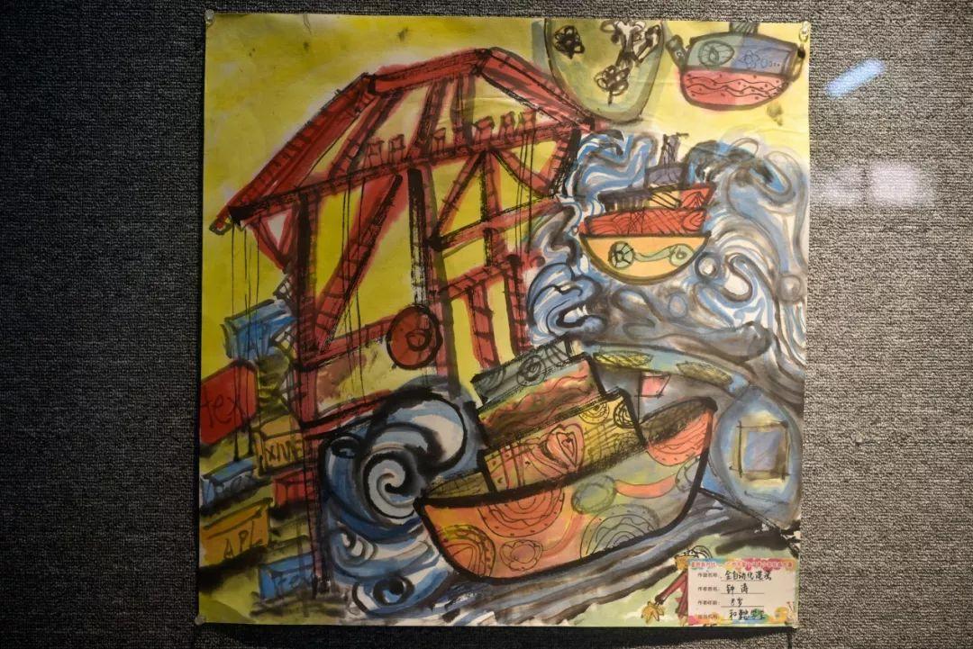全国青年美术作品展_童赞新时代:文化公园举办广州市青少年绘画大赛作品展 -信息时报